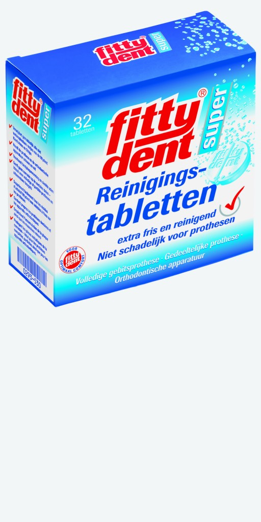 fittydent Cleansing Tablets Niederlande